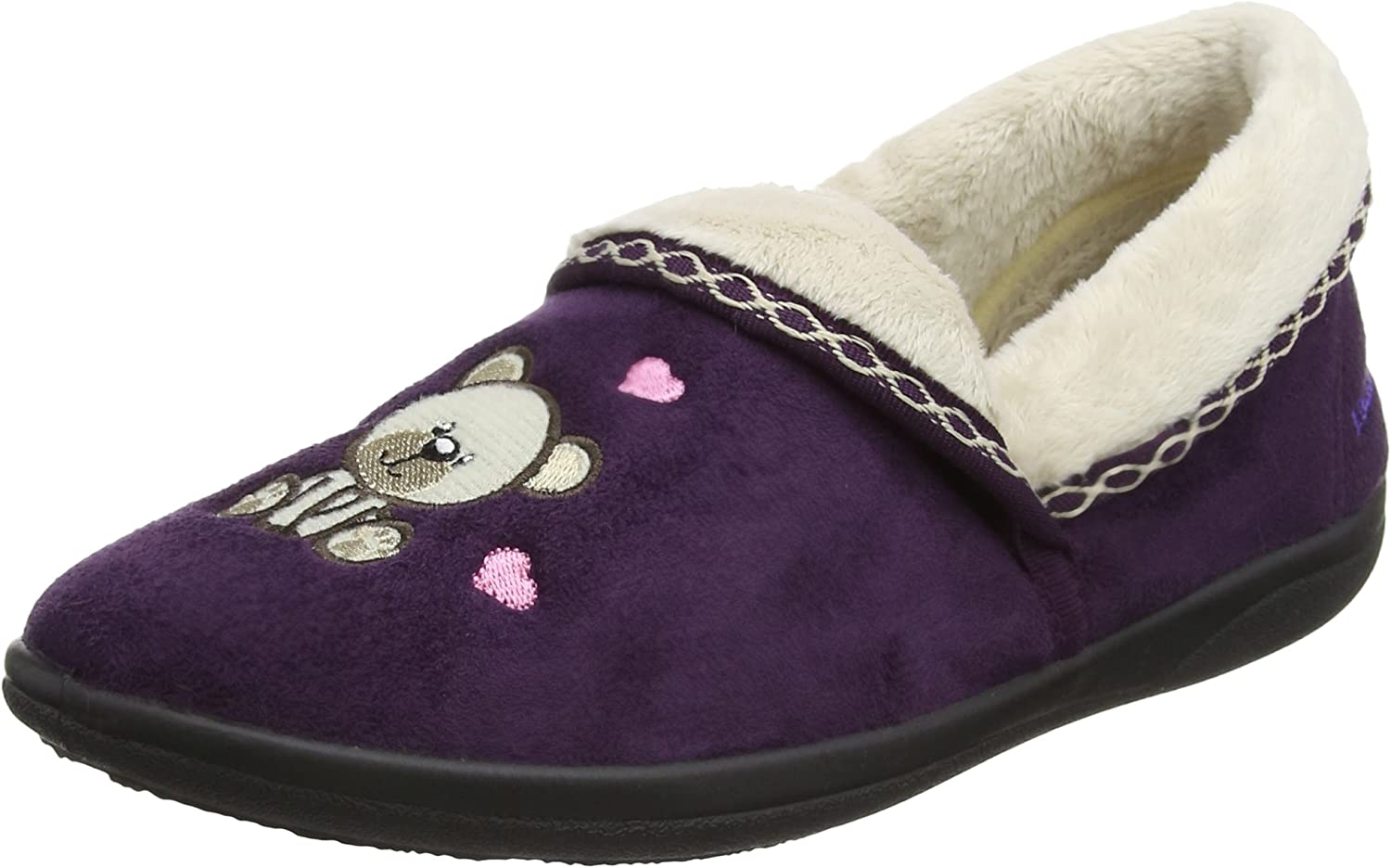 PADDERS Women's Teddy Full Slipper (403 24)