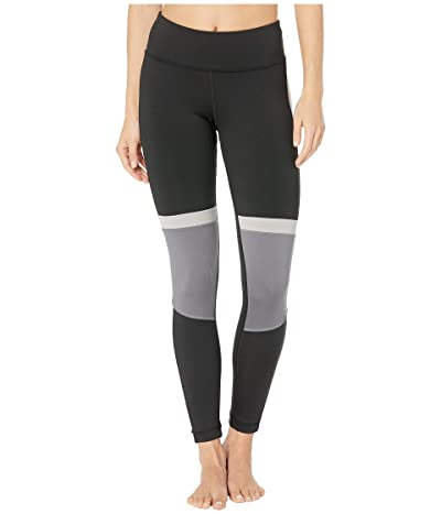 Reebok Work Out Ready Meet You There Panel Poly Tights (Black 1) Women