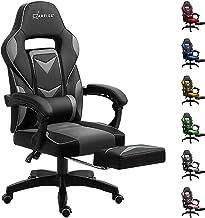 Artiss Office Chair Computer Desk Gaming Chair Study Home Work Recliner Black Grey