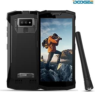 DOOGEE S80 Rugged Smatphone Unlocked Android 8.1 - Outdoor Walkie Talkie Phones 4G - 10080mAh 5.99 FHD+ Screen 6GB RAM+64GB ROM 16MP+5MP+12MP Camera NFC - Waterproof Unlocked Cell Phones - Black