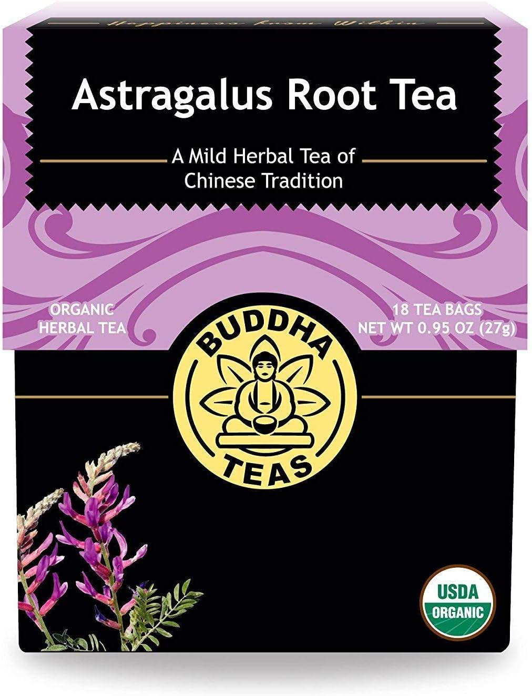 Buddha Teas Organic Some reservation Astragalus Root Free Shipping Cheap Bargain Gift Bag 18 Bleach-Free Tea