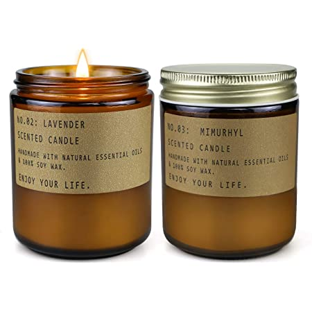 4 oz Metal Tin Candle Beach Linen Handmade Scented Soy Candle Tin
