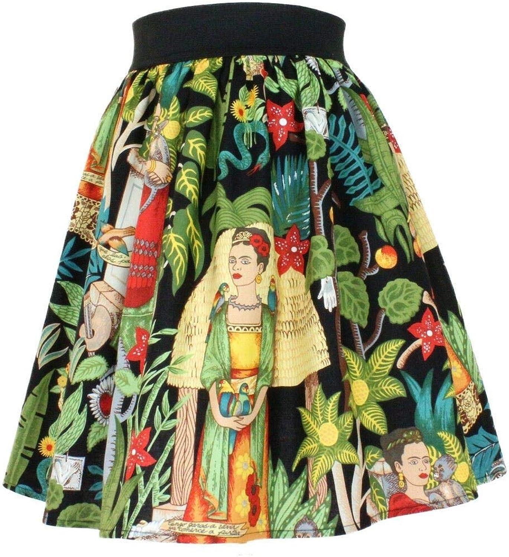 Hemet Women's Frida Pleated Skirt Black