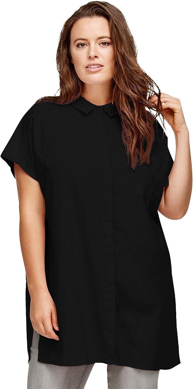 ellos Women's Sale price Plus Size Tunic Bargain Oversized Blend Linen