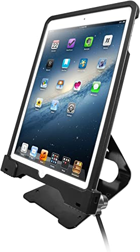 CTA Digital: Anti-Theft Security Case with POS Stand for iPad Pro 9.7, iPad (Gen. 5-6), or iPad Air (1-2)