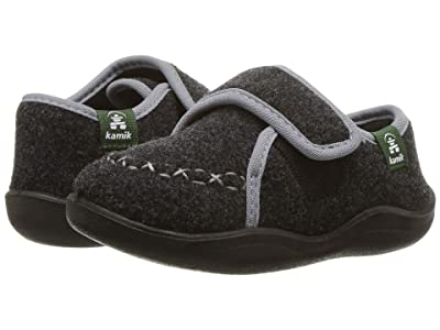 Kamik Kids Cozylodge (Toddler/Little Kid/Big Kid) (Black/Charcoal) Kids Shoes