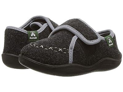 Kamik Kids Cozylodge (Toddler/Little Kid/Big Kid) (Black/Charcoal) Kids Shoes