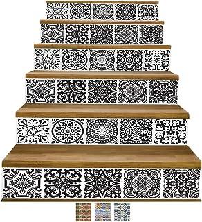 comprar comparacion Y-Step Vinilos adhesivos para la pared, DIY, autoadhesivos, resistentes al agua, 6 unidades de 18 x 102 cm