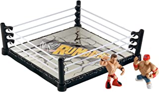 WWE Rumblers Ring With John Cena and The Miz Figures