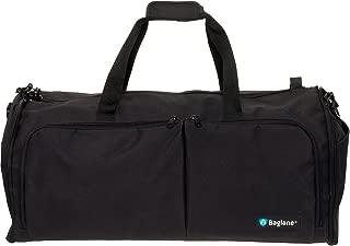 Suit Garment Bag By Baglane - Military Travel Duffel Bag (Black)