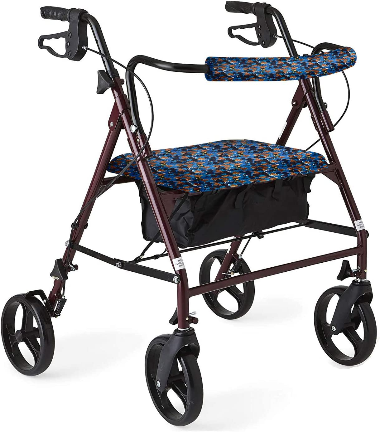 Unisex Max 62% OFF Rollator Walker Seat and Rollbar Universa Backrest New color Covers