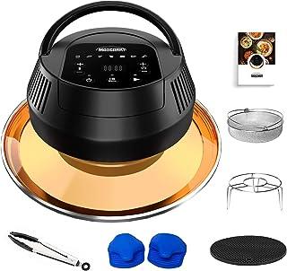 MASCARRY Air Fryer Lid for Instant Pot 6 Quart & 8 Quart, 8 In 1 Air Fryer Lid for Pressure Cooker, Turn Your Pressure Coo...