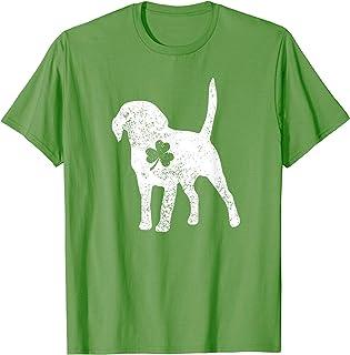 Labrador Shamrock St Patricks Day Lab Dog Lover Gift T-Shirt