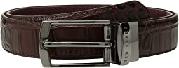 Ted Baker Sunflow Leather Reversible Belt
