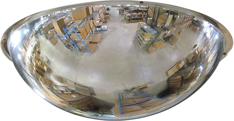 Se-Kure Domes & Mirrors ONV-360-18 Full Dome Mirror Hanging Chains, 18  Diameter