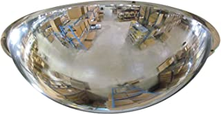 Se-Kure Domes & Mirrors ONV-360-18 Full Dome Mirror/Hanging Chains, 18