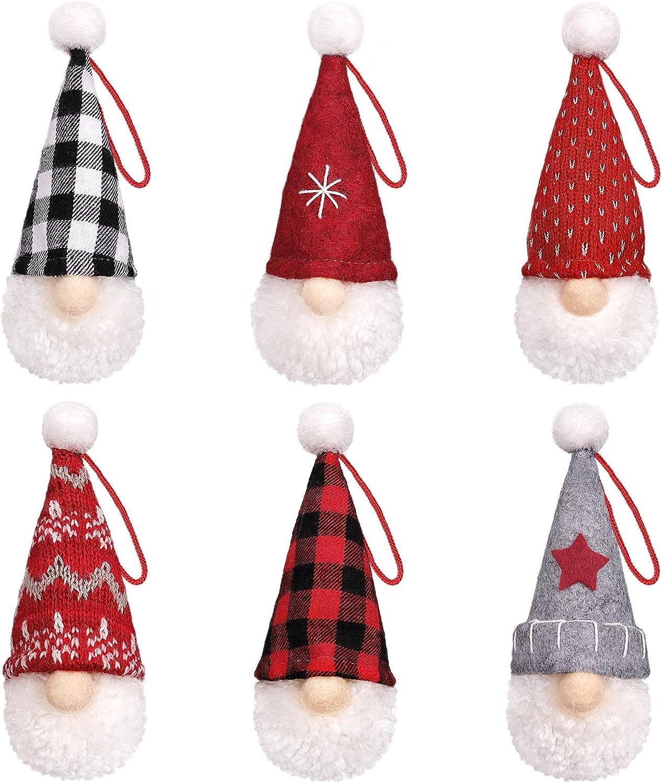 D-FantiX Gnome Ranking TOP18 Christmas Ornaments Set of Swedish To Selling rankings 6 Handmade