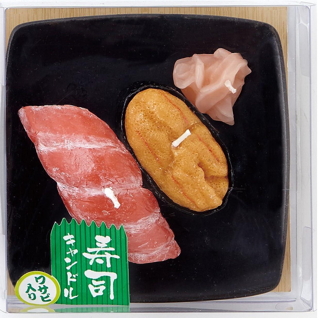 精査九時四十五分ポンプ寿司キャンドル C(ウニ?大トロ) サビ入