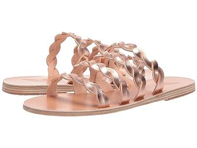 Ancient Greek Sandals Kynthia (Pink Metal) Women