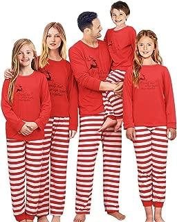 Christmas Family Matching Pajama Set Xmas Pyjamas Sleepwear Holiday Pjs