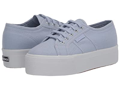 Superga 2790 Acotw Platform Sneaker (Azure Erica) Women