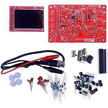 Clip Probe /& ESD-Safe Silicone Mat JYETech DSO 138 Oscilloscope DIY Kit w//100MHz Probe