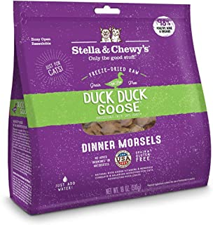 Stella & Chewy's Freeze-Dried Dinner Morsels Grain-Free Cat Food