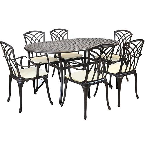 Awesome Aluminium Garden Furniture Amazon Co Uk Download Free Architecture Designs Scobabritishbridgeorg