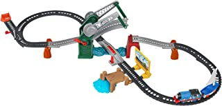 Fisher-Price Thomas & Friends Bridge Lift Thomas & Skiff train set with motorized engine and toy boat for preschool kids a...