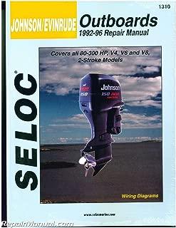 SL1310 Seloc 1992-1996 Johnson Evinrude 4, 6, 8, Cylinder 2 - Stroke Outboard Boat Engine Repair Manual