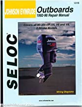 SL1310 Seloc 1992-1996 Johnson Evinrude 4, 6, 8, Cylinder 2 - Stroke Outboard Boat Engine Repair Manual