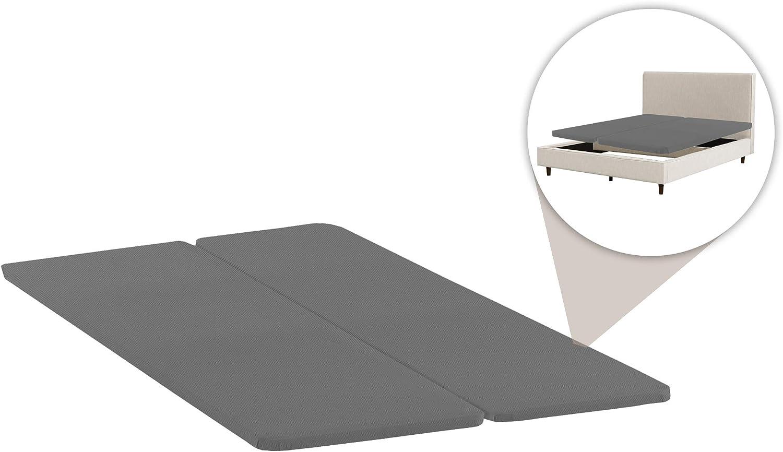 Nutan Split Fully Assembled Bunkie Board for Mattress//Bed Support Set of 2 Beige Twin XL