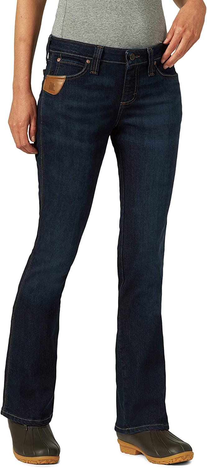 Wrangler Recommendation Riggs Workwear Max 68% OFF Women's 5 Boot Cut Pocket Jean
