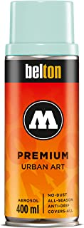 Molotow Belton Premium Artist Spray Paint, 400ml Can, Baby Blue, 1 Each (327.016)