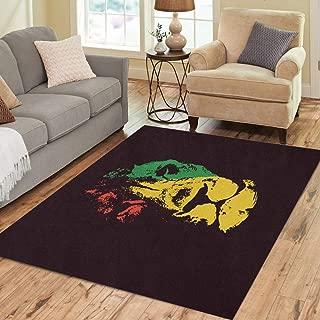 bob marley area rug