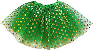 Kids, Adult, or Plus Size Gold Polka DOT Tutu Skirt Halloween Costume