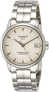 Tissot Women's Cream Stainless Steel Band Watch - T086.208.11.261.00