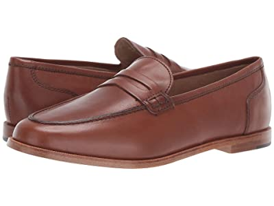 J.Crew Ryan Penny Loafers in Leather (Burnished Pecan) Women