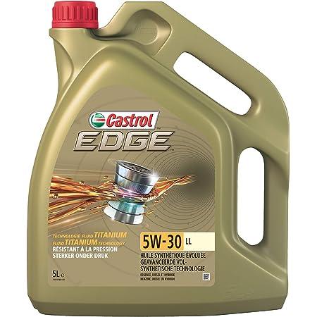 Castrol 1845033 15669d Motoröl Edge Ti 5w 30 Ll 5 Liter Brown Auto