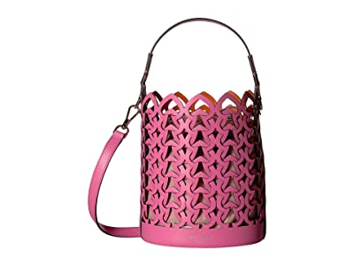 Kate Spade New York Dorie Small Bucket (Hibiscus Tea) Handbags
