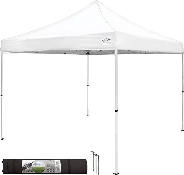大篷车雨棚 M 系列 2 Pro 10X10 脚直腿雨棚套件白色