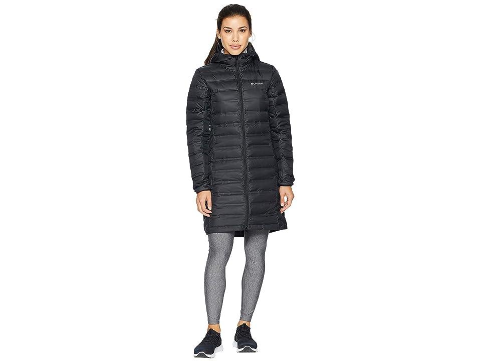 Columbia Lake 22 Long Hooded Jacket (Black) Women