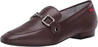 MARC JOSEPH NEW YORK Women's Leather W. Houston Buckle Loafer