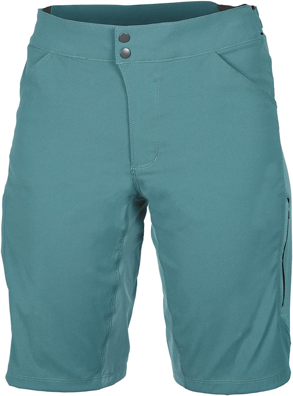 Showers Pass Europe Showers Pass Quick Drying Lightweight Breathable Women's IMBA Shorts (Smoke bluee, 2)