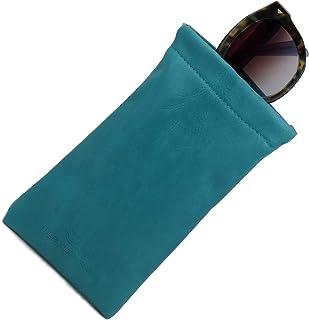 Soft Sunglasses case, Squeeze Top pouch,Large soft eyeglass case