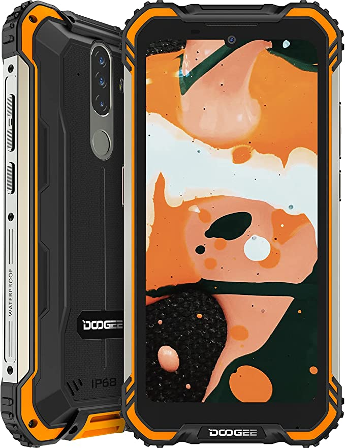 36 opinioni per Rugged Smartphone,DOOGEE S58 Pro IP68 / IP69K Android 10 4G Smartphone, 6 GB +