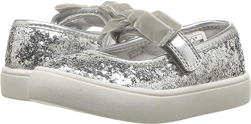 Silver Glitter PU/Metallic PU/Velvet