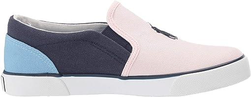 Light Pink/Navy/Blue Canvas/Navy Pony