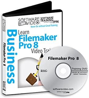 Software Video Learn FILEMAKER PRO 8 Training DVD Christmas Holiday Sale 60% Off training video tutorials DVD Over 5 Hours of Video Training