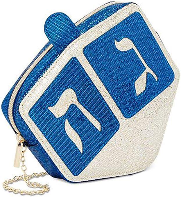 Celebrate Shop Hanukkah Dreidel Small Crossbody Bag